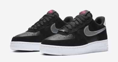 Tenisky Nike Air Force 1 WMNS Black Pink DA4282-001