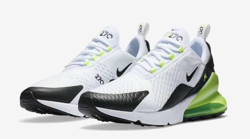Tenisky Nike Air Max 270 White Black DC0957-100