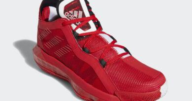 Tenisky adidas Dame 6 Scarlet Red FY0850