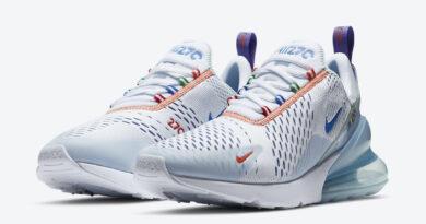 Tenisky Nike Air Max 270 White Blue CZ7947-100