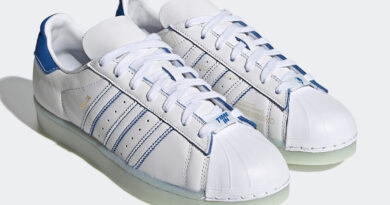 Tenisky Ninja x adidas Superstar White Blue FX2784