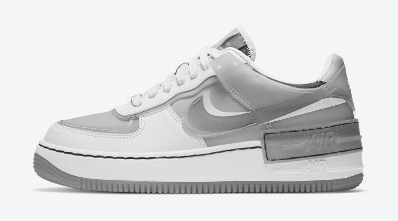 Tenisky Nike Air Force 1 Shadow White Grey CK6561-100