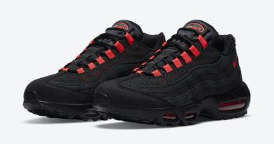 Tenisky Nike Air Max 95 Black Crimson DA1513-001