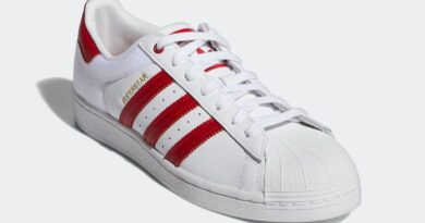Tenisky adidas Superstar White Red FY3117
