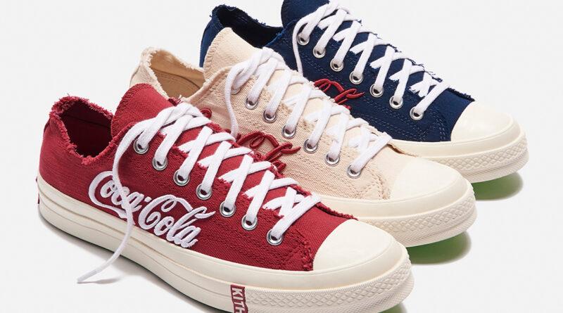 Tenisky Kith x Coca-Cola x Converse Chuck 70 Low