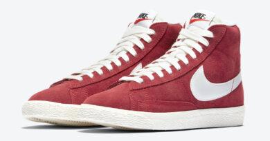 Tenisky Nike Blazer Mid '77 GS Gym Red DA4672-600