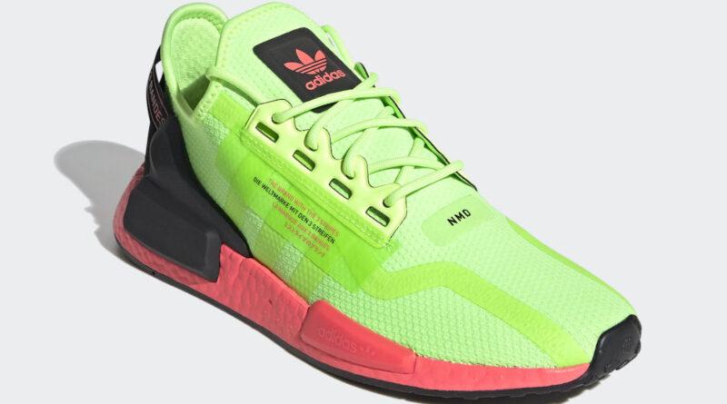 Tenisky adidas NMD R1 V2 Signal Green FY5920