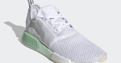 Tenisky adidas NMD R1 White Green FV1737