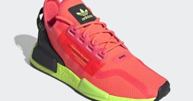 Tenisky adidas NMD R1 V2 Pink Green FY5919
