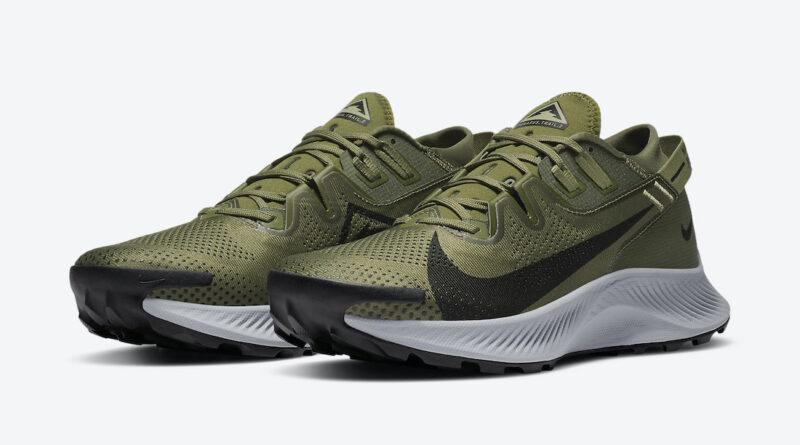 Tenisky Nike Pegasus Trail 2 Khaki Olive CK4305-201