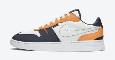 Tenisky Nike Squash-Type White Orange CJ1640-101