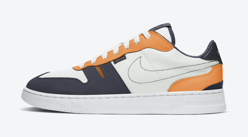 Tenisky Nike Squash-Type White Orange CJ1640-101