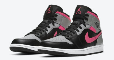 Tenisky Air Jordan 1 Mid Pink Shadow 554724-059