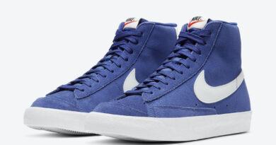 Tenisky Nike Blazer Mid '77 Suede Royal Blue CI1172-402