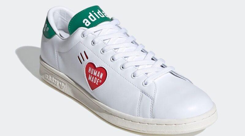 Tenisky Human Made x adidas Stan Smith White Green FY0734