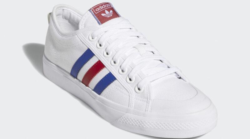 Tenisky adidas Nizza White Scarlet Blue FV0657
