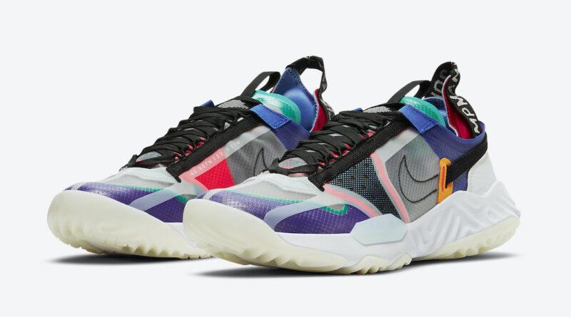 Pánské barevné tenisky Jordan Delta Breathe Multi Color CW0783-900 nízké sportovní boty a obuv Jordan