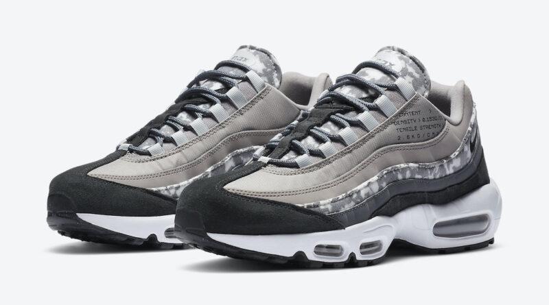 Pánské šedé tenisky Nike Air Max 95 SE Enigma Stone/Off Noir-White-Iron Grey CU1560-001 nízké sportovní boty a obuv Nike