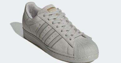 Pánské šedé tenisky a boty adidas Superstar Grey Suede Metal Gray/Dub Gray FY2321 semišové nízké botasky a obuv adidas