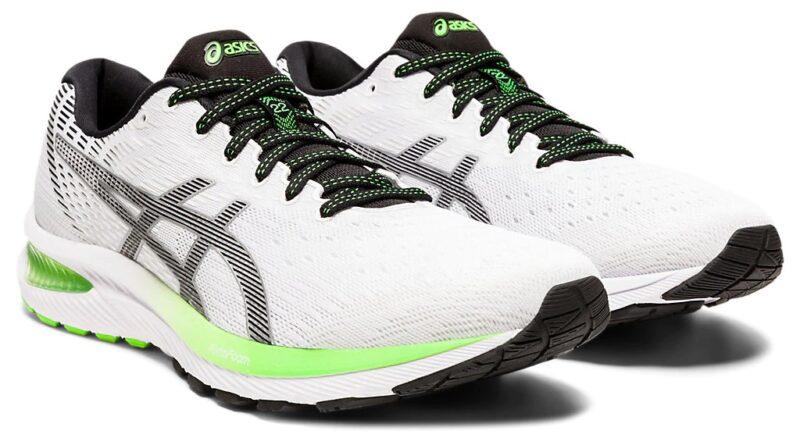 Pánské bílé tenisky a boty Asics Gel-Cumulus 22 White/Black 1011A862-100 nízké běžecké botasky a obuv Asics