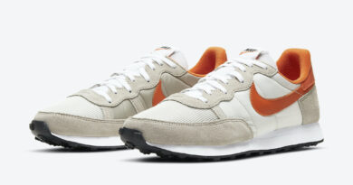 Pánské bílé a šedé tenisky Nike Challenger OG White Sail Team Orange Grey Black CW7645-004 nízké běžecké boty a obuv Nike