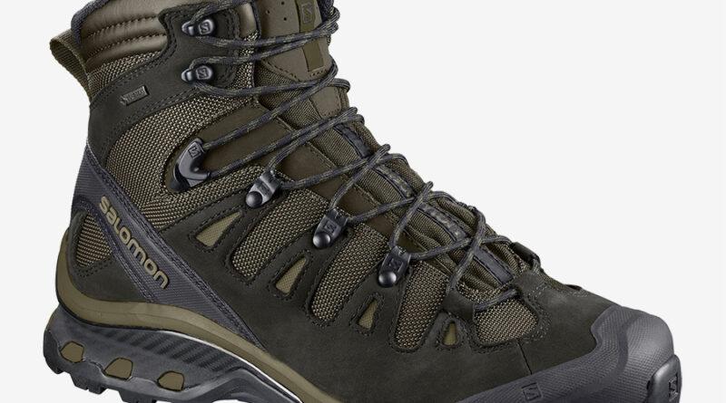 Pánské outdoorové a trekové boty Salomon Quest 4D 3 GTX Grape Leaf/Peat/Burnt Olive 409443 turistická kotníková obuv Salomon