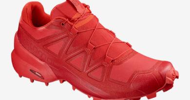 Pánské červené tenisky a boty Salomon Speedcross 5 High Risk Red/Barbados Cherry/Barbados Cherry 406843 nízké botasky a obuv