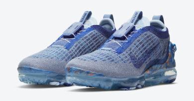 Pánské modré tenisky a boty Nike Air VaporMax 2020 Stone Blue/Deep Royal Blue-Glacier Blue CT1823-400 běžecké botasky a obuv Nike