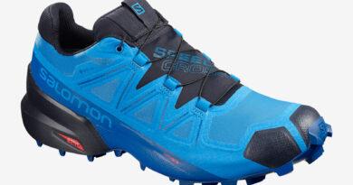 Pánské modré tenisky a boty Salomon Speedcross 5 GTX GORE-TEX Blue Aster/Lapis Blue/Navy Blazer 409571 běžecké botasky a obuv Salomon