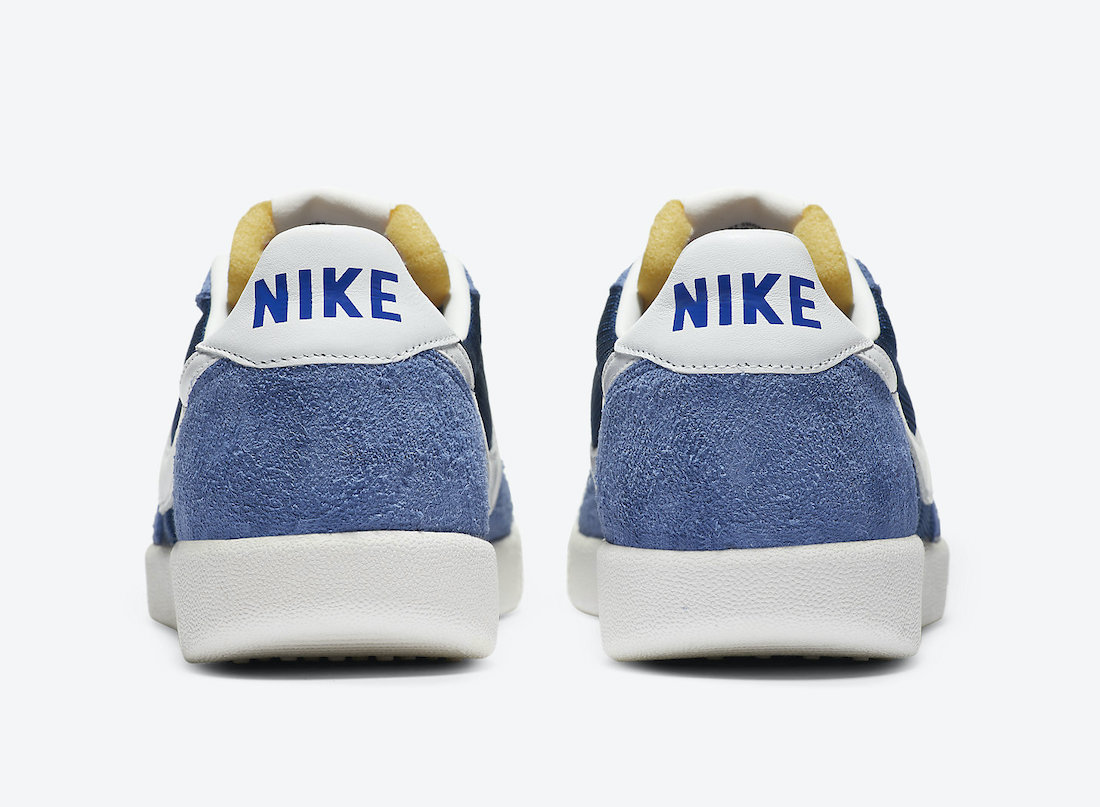 Pánské modré tenisky a boty Nike Killshot OG Coastal Blue/White-Stone Blue-White DC1982-400 sportovní nízké botasky a obuv Nike