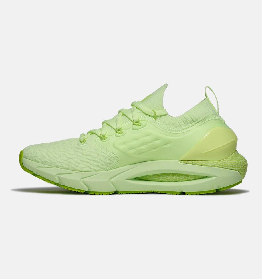 Dámské zelené tenisky a boty Under Armour Hovr Phantom 2 Lime Fizz/Lime Fizz/Green Citrine 3023021-300 nízké běžecké botasky a obuv UA