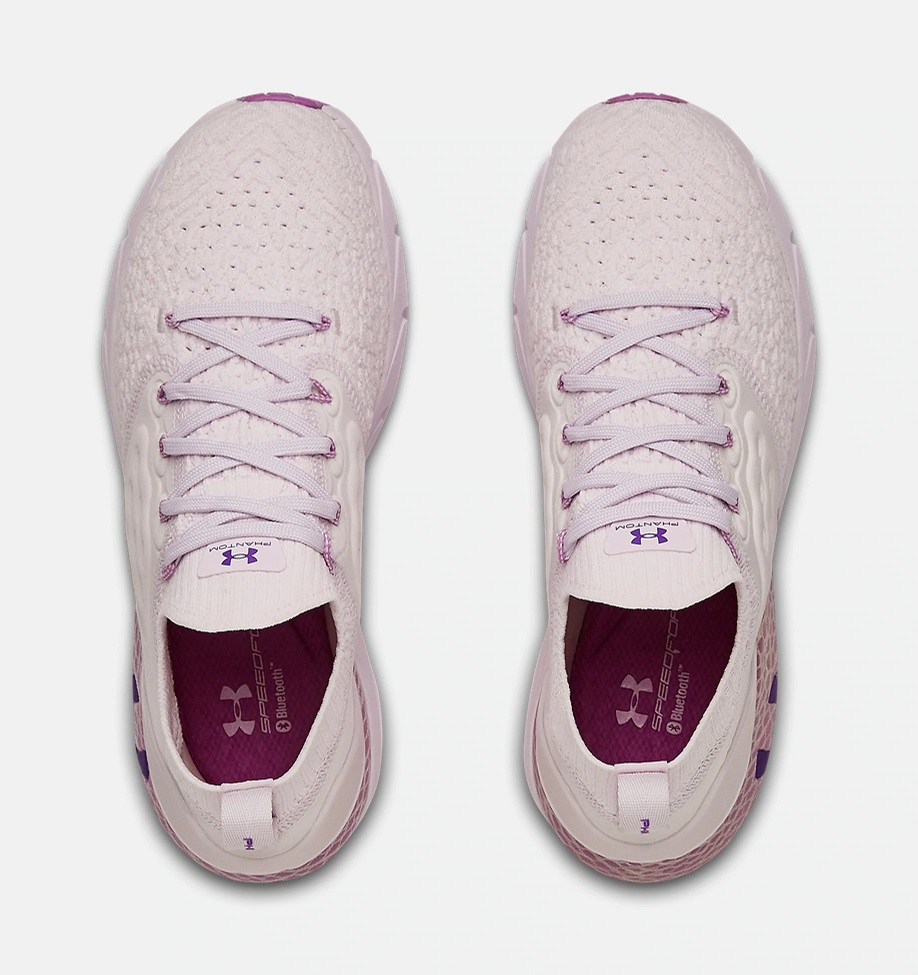 Dámské fialové tenisky a boty Under Armour Hovr Phantom 2 Crystal Lilac/Crystal Lilac/Exotic Bloom 3023021-500 běžecké botasky a obuv UA