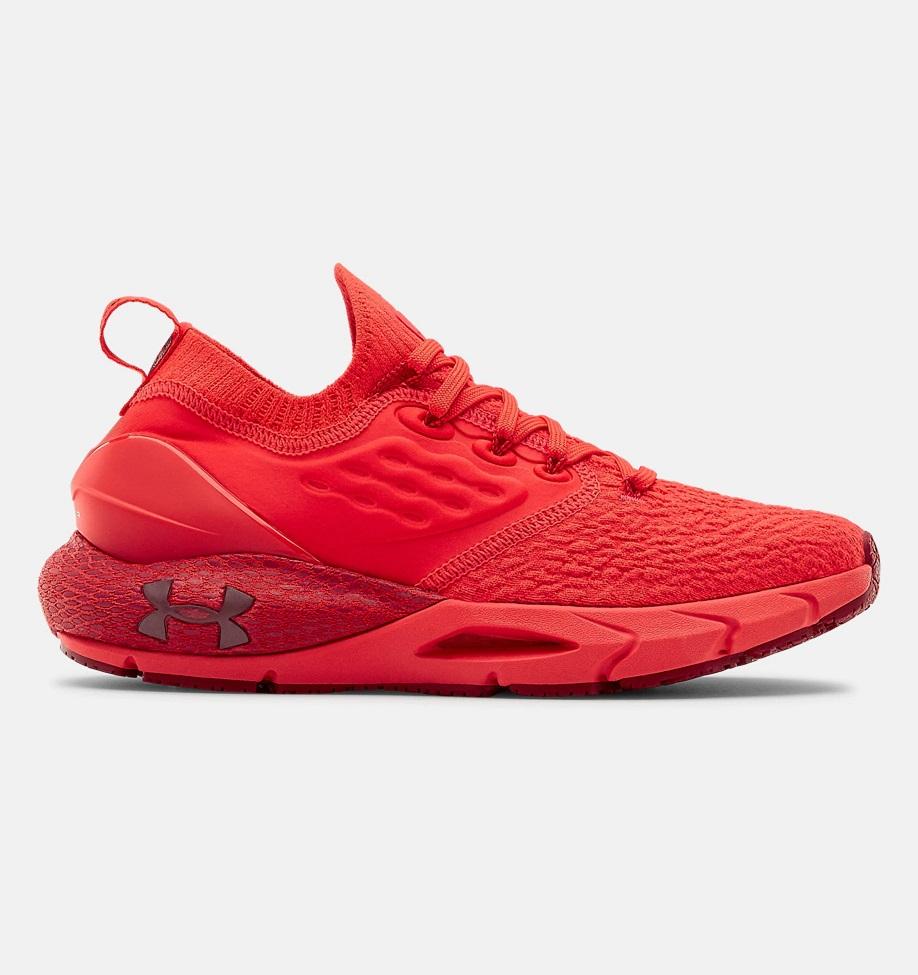 Dámské červené tenisky a boty Under Armour Hovr Phantom 2 Versa Red/Versa Red/Cordova 3023021-600 nízké běžecké botasky a obuv UA
