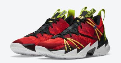 Pánské červené tenisky Jordan Why Not Zer0.3 Bright Crimson/Black-University Red CK6611-600 basketbalové boty a obuv Jordan