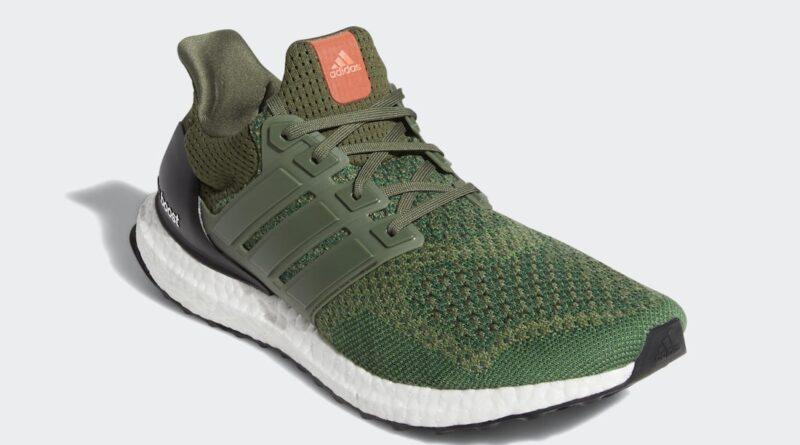 Pánské zelené tenisky a botasky adidas Ultra Boost 1.0 Base Green/Base Green-Core Black AF5837 nízké běžecké boty a obuv Adidas