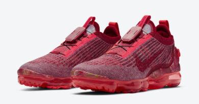 Pánské červené tenisky a boty Nike Air VaporMax 2020 Team Red/Gym Red-Flash Crimson CT1823-600 běžecké botasky a obuv Nike
