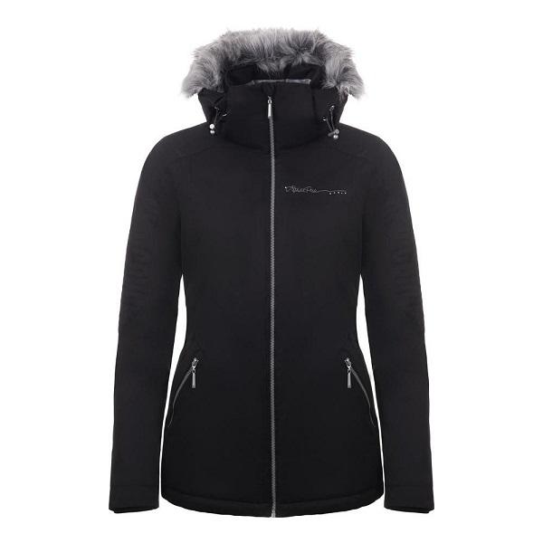 Alpine Pro Memka 3 dámská elegantní černá zimní bunda