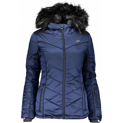 Dámská lyžařská zimní bunda Loap Odelie modrá