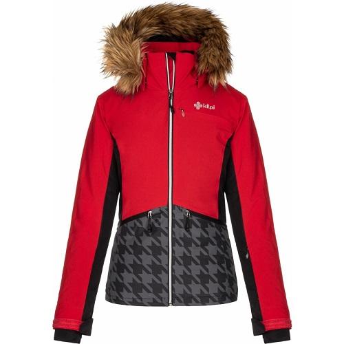 Dámská lyžařská bunda Kilpi Tessa W červená