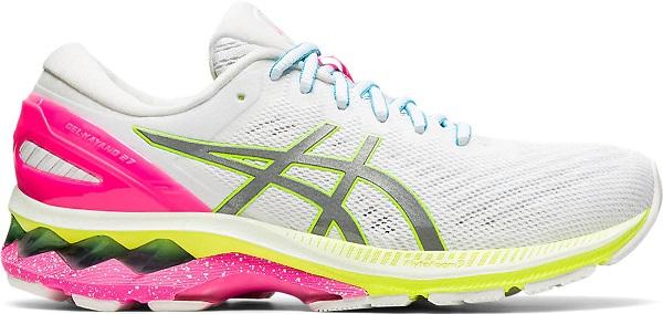 Běžecká dámská obuv Asics Gel-Kayano 27 Lite-Show 1012A761-100 bílé