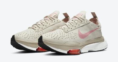 Pánské krémové tenisky a boty Nike Air Zoom Type Light Orewood Brown/Hyper Crimson-Summit White-Pink Blast CZ1151-100 běžecké botasky a obuv