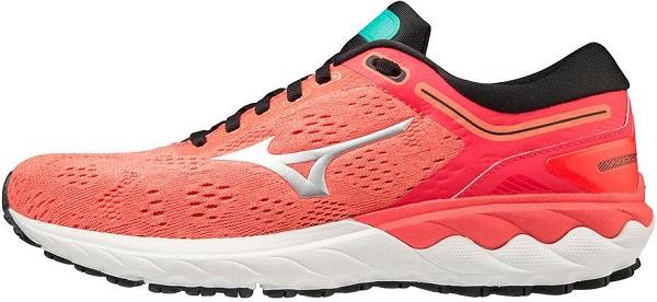 Běžecká dámská obuv Mizuno Wave Skyrise J1GD200946 červené