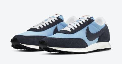 Pánské modré tenisky a boty Nike Daybreak Light Armory Blue/Obsidian-White-Sail DB4635-400 sportovní nízké botasky a obuv Nike