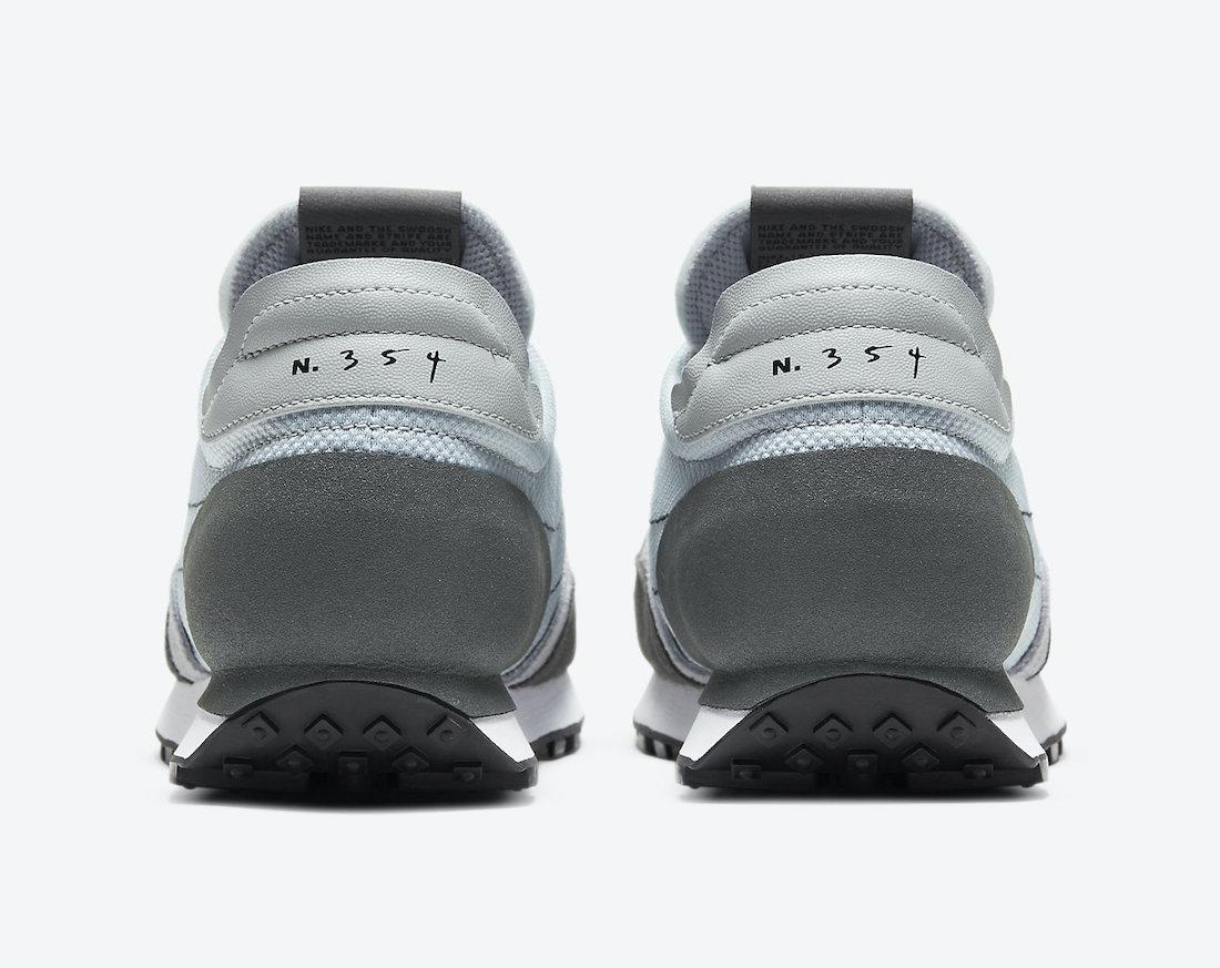 Pánské šedé modré tenisky a boty Nike Daybreak Type Wolf Grey/Black-Iron Grey-White CT2556-001 nízké retro botasky a obuv Nike