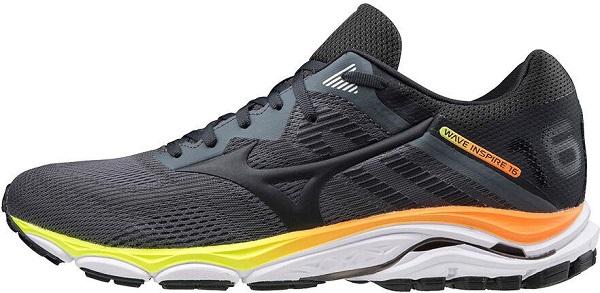 Běžecké pánské boty Mizuno Wave Inspire 16 J1GC204416 černé