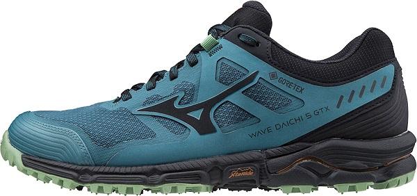 Trailová pánská obuv Mizuno Wave Daichi 5 GTX J1GJ205616 modré