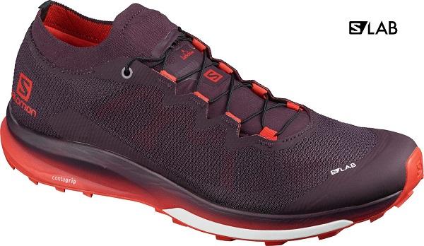 Trailové pánské boty Salomon S LAB Ultra 3 L41266100 vínové