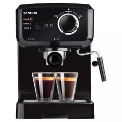 Pákový kávovar espresso Sencor SES 1710 BK