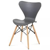 Dřevěná jídelní židle DARINA buk šedá