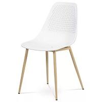 Jídelní židle SALLY bílá dub